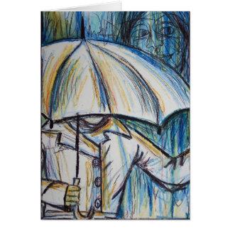 cartão do dia chuvoso