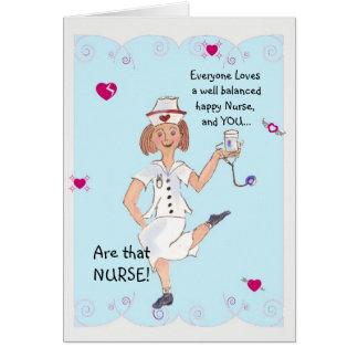 Cartão do dia da enfermeira