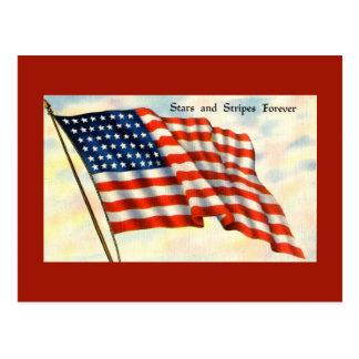 Cartão do Dia da Independência da bandeira