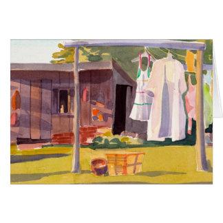 Cartão do dia da lavanderia