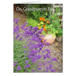Cartão do dia das avós