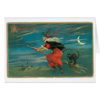 Cartão do Dia das Bruxas