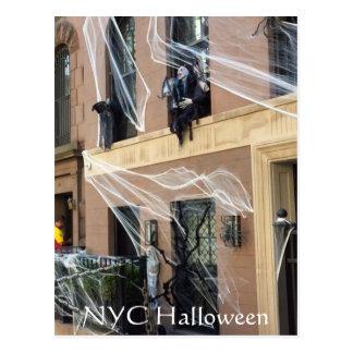 Cartão do Dia das Bruxas da Nova Iorque