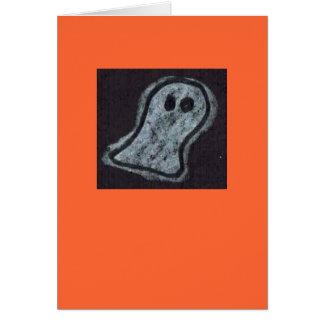 Cartão do Dia das Bruxas do fantasma de Helen