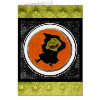 Cartão do Dia das Bruxas para o amigo