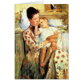 Cartão do dia das mães - artista: Mary Cassatt