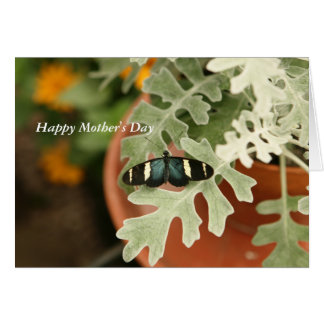 Cartão do dia das mães com envelope