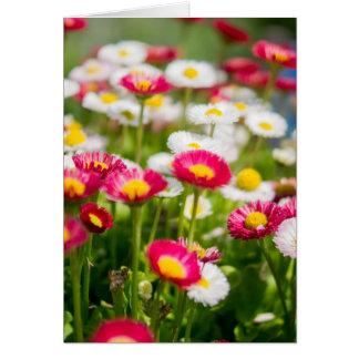 Cartão do dia das mães com flores