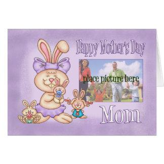 Cartão do dia das mães da mamã - cartões de fotos