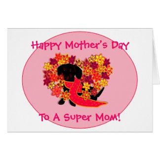 Cartão do dia das mães de Doxie