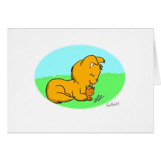 Cartão do dia das mães de Lappy
