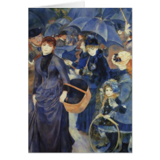 Cartão do dia das mães de Pierre-Auguste Renoir