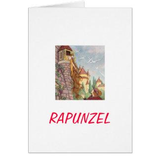 Cartão do dia das mães de Rapunzel