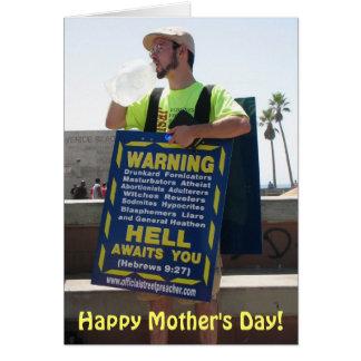 Cartão do dia das mães do divertimento!
