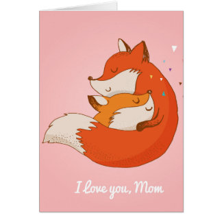 Cartão do dia das mães - Fox