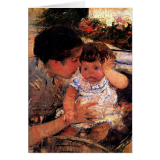 Cartão do dia das mães - Mary Cassatt