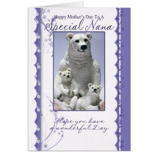 Cartão do dia das mães, Nana especial