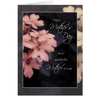 Cartão do dia das mães para a sogra, Phlox do