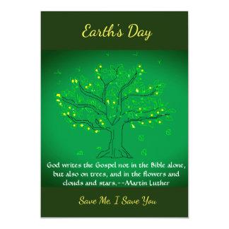Cartão do dia de Earth