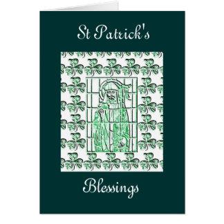Cartão do Dia de São Patrício