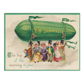 Cartão do Dia de São Patrício do flutuador do