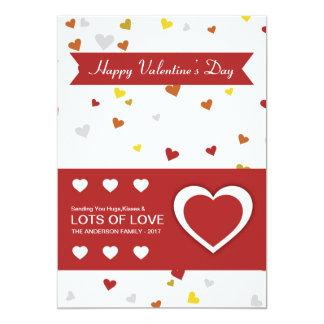 Cartão do dia de são valentim