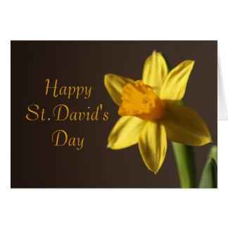 Cartão do dia de St David