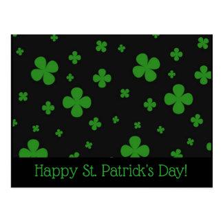 Cartão do dia de St Patrick