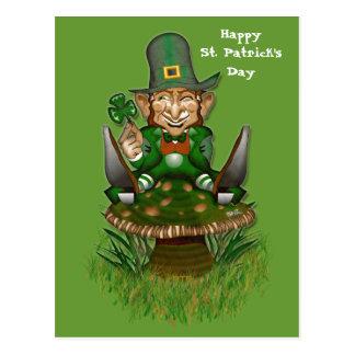 Cartão do dia de St Patrick feliz