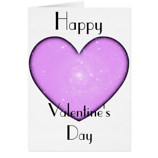 Cartão do dia de Valenine universal do coração