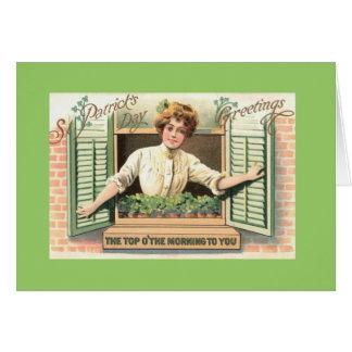 Cartão do dia do St. Patricks