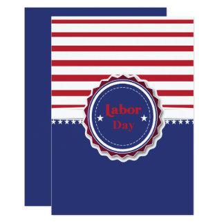 Cartão do Dia do Trabalhador Convite 12.7 X 17.78cm