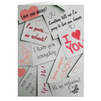 Cartão do dia dos namorados