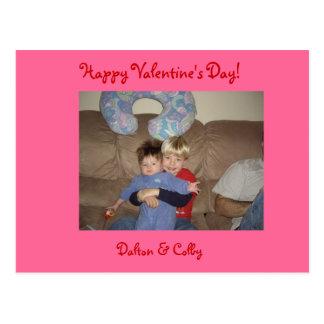 Cartão do dia dos namorados cartões postais