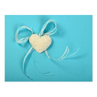 Cartão do dia dos namorados com um coração
