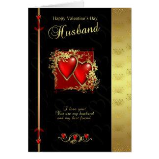 Cartão do dia dos namorados do marido - o D dos na