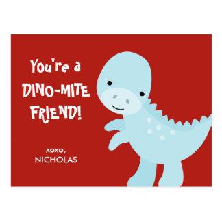 Cartão do dia dos namorados do miúdo - amigo do