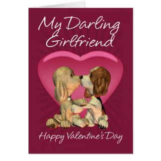 Cartão do dia dos namorados do namorada com dois P