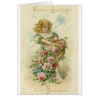 Cartão do dia dos namorados do querido do