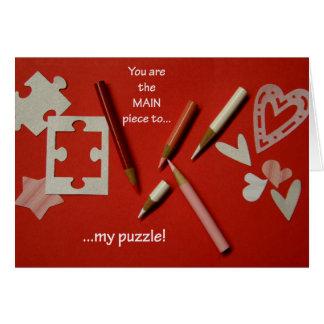 Cartão do dia dos namorados dos amantes do