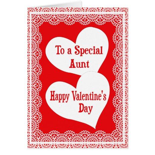Cartão do dia dos namorados para a tia