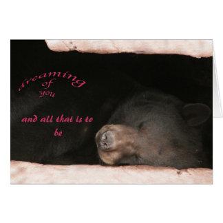 cartão do dia dos namorados Urso-LY
