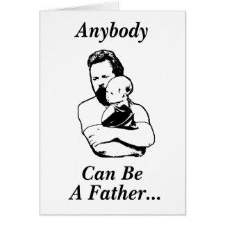 Cartão do dia dos pais