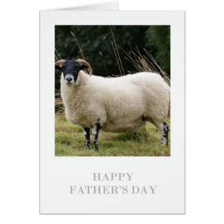 Cartão do dia dos pais - carneiro