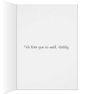 """Cartão do dia dos pais da """"papá"""""""