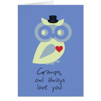 Cartão do dia dos pais de Gramps