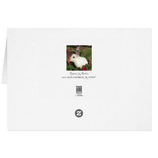 Cartão do dia dos pais do coelho e dos calçados