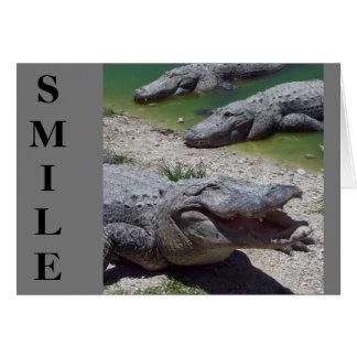 Cartão do dia dos pais do sorriso