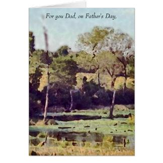 Cartão do dia dos pais para o pai