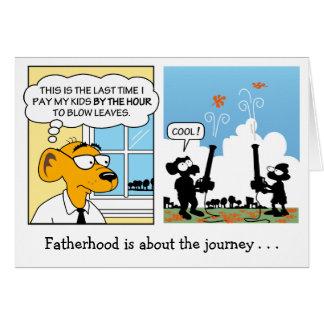 Cartão do dia dos pais: Paternidade